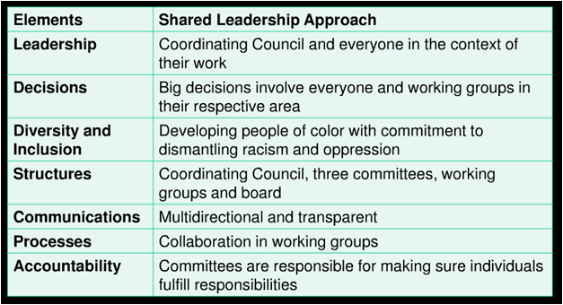 What does collective leadership look like in an organizational ...