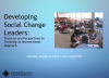 Developing Social Change Leaders